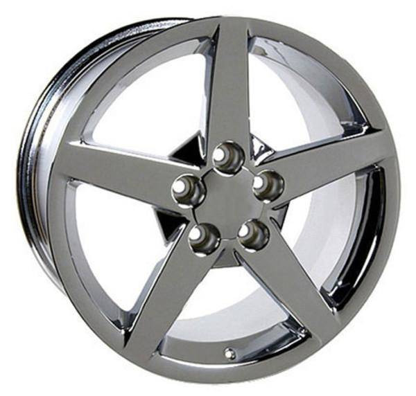 "17"" Pontiac Firebird replica wheel 1993-2002 Chrome rims 6710178"