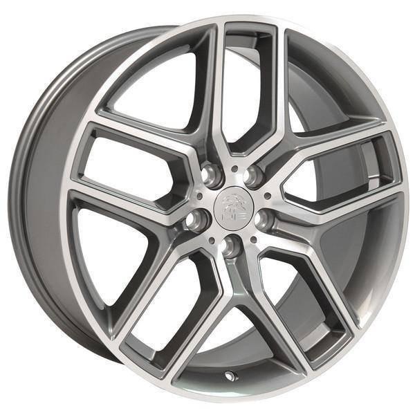 "20"" Ford Explorer replica wheel 2011-2018 Gunmetal Machined rims 9507074"