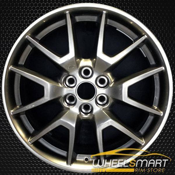 "20"" Cadillac SRX oem wheel 2013-2016 Hypersilver alloy stock rim ALY04709U79"