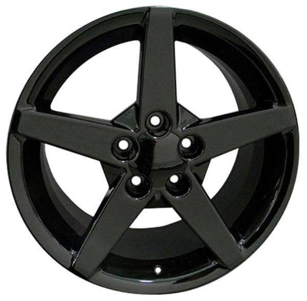 """17"""" Pontiac Firebird replica wheel 1993-2002 Black rims 7387736"""