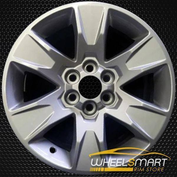 "17"" GMC Canyon oem wheel 2015-2018 Silver alloy stock rim 5693"