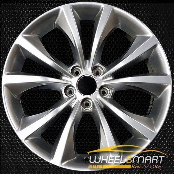 "18"" Chrysler 200 oem wheel 2015-2017 Hypersilver alloy stock rim 2516"