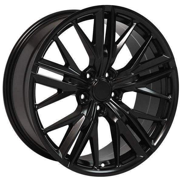 "20"" Chevy Camaro replica wheel 2010-2018 Satin Black rims 9506888"