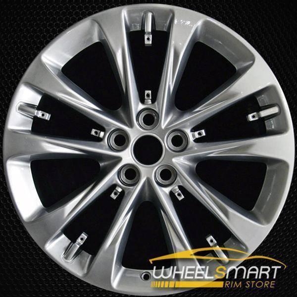"20"" Cadillac CT6 oem wheel 2016-2018 Hyper silver alloy stock rim 4764"