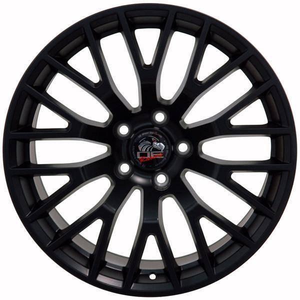 "19"" Ford Mustang replica wheel 2005-2016 Satin Black rims 9486724"