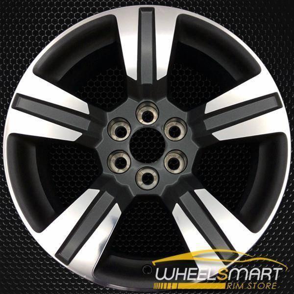 "18"" Chevy Colorado oem wheel 2015-2018 Machined alloy stock rim 5673"