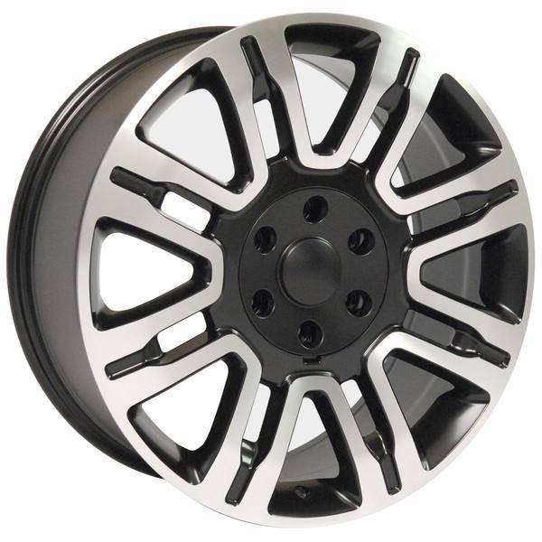 """20"""" Lincoln Navigator replica wheel 2003-2018 Black Machined rims 9506269"""