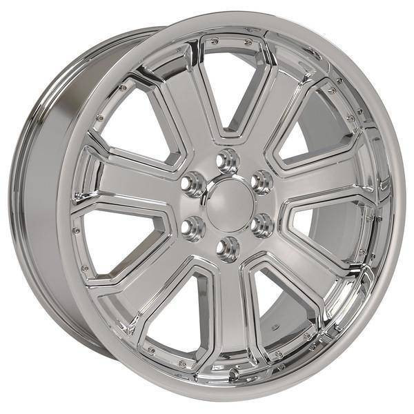 "22"" Chevy Blazer replica wheel 1992-1994 Chrome rims 9506713"