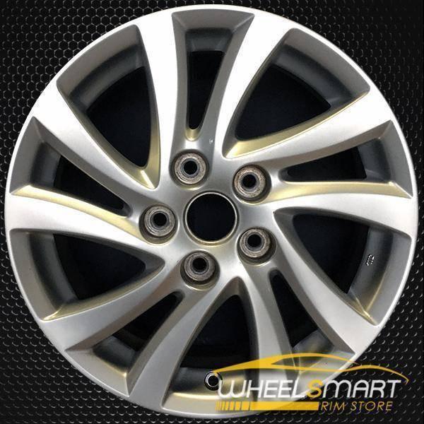 """16"""" Mazda 5 oem wheel 2012-2016 Silver alloy stock rim 64948"""