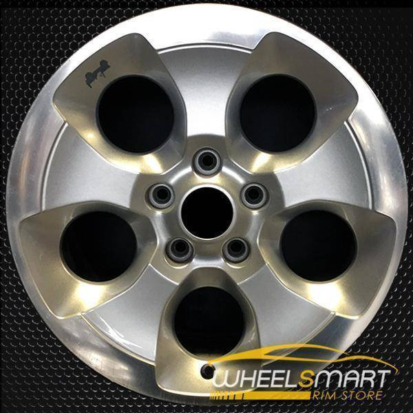 "18"" Jeep Wrangler oem wheel 2013-2018 Polished alloy stock rim 9119"