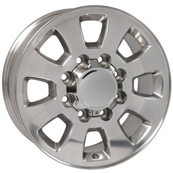 "18"" GMC Sierra 1500 replica wheel 1999-2010 Polished rims 9504057"