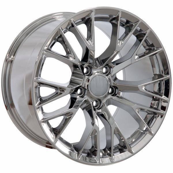 "19"" Chevy Corvette  replica wheel 2005-2013 Chrome rims 9506443"