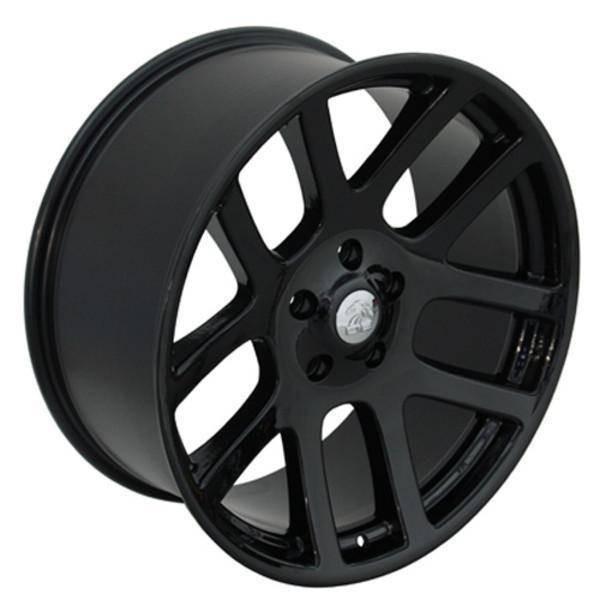 "22"" Dodge Ram 1500 replica wheel 2011-2018 Black rims 9450455"