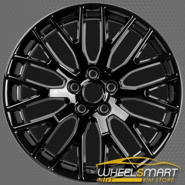 """10038 Gloss Black Ford Mustang rim 19"""" alloy OEM wheel part FR3Z1007N"""