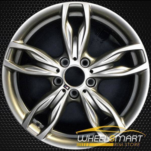 "18"" BMW 230i oem wheel 2014-2018 Charcoal alloy stock rim 86128"