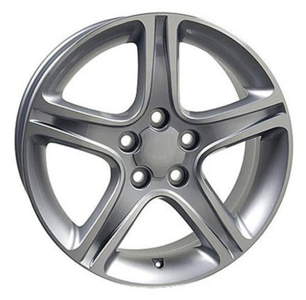 "17"" Toyota Sienna replica wheel 1998-2018 Machined Silver rims 4750910"
