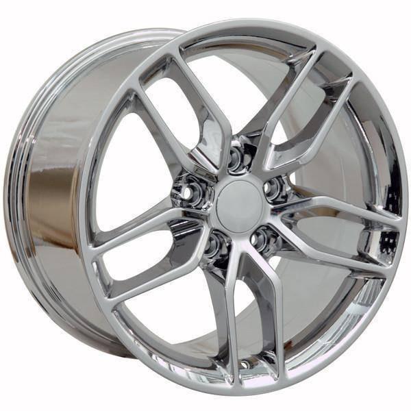 "17"" Chevy Corvette replica wheel 1988-1996 Chrome rims 9507534"