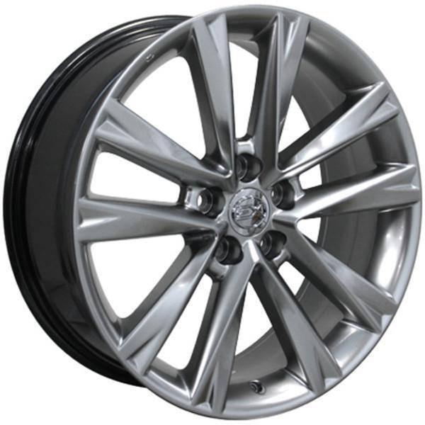 "19"" Toyota Sienna replica wheel 1998-2018 Hypersilver rims 9472291"