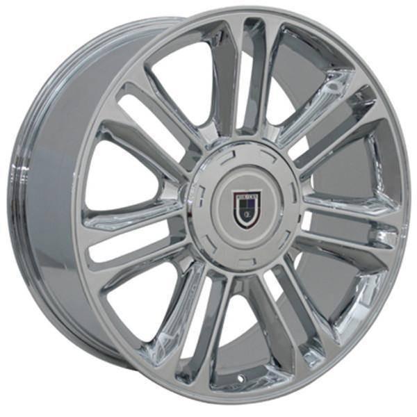 "22"" Cadillac escalade replica wheel 1999-2019 Chrome rims 8579275"