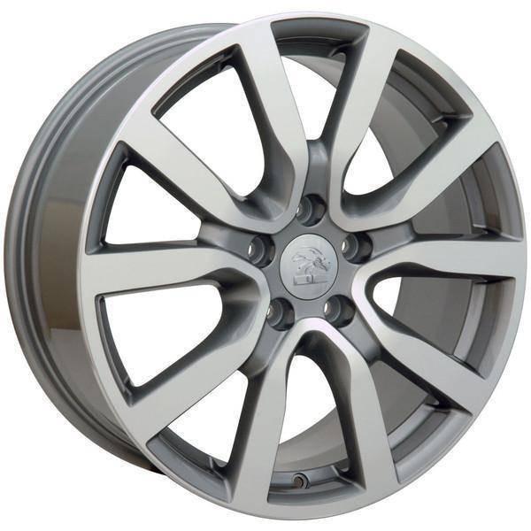 "18"" Volkswagen VW GTI replica wheel 2006-2018 Machined Gunmetal rims 9490041"