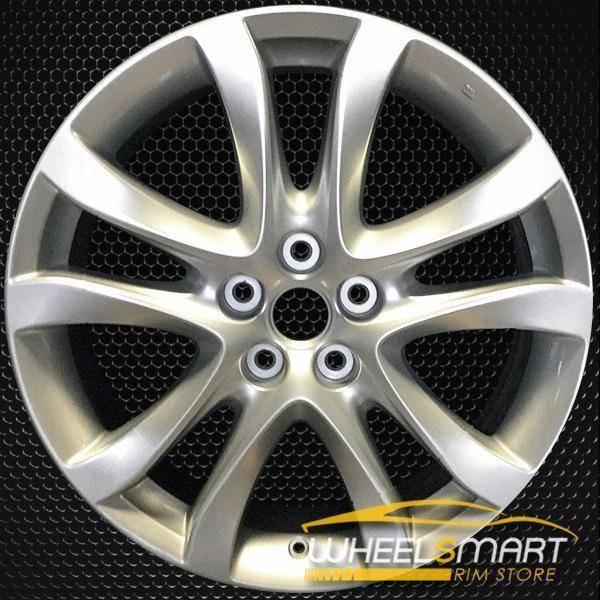 """19"""" Mazda 6 oem wheel 2014-2016 Silver alloy stock rim 64958"""