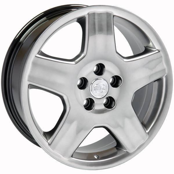 "18"" Toyota Sienna replica wheel 1998-2018 Hyper Black rims 6710248"