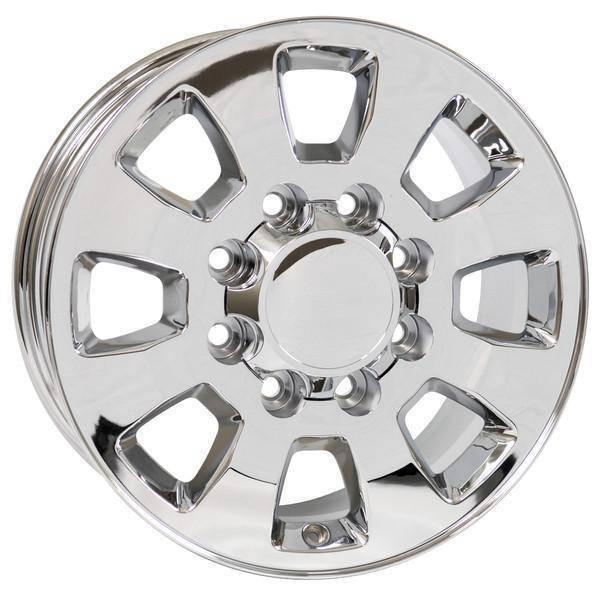 """18"""" GMC Sierra 2500 3500 replica wheel 2011-2018 Chrome rims 9504052"""