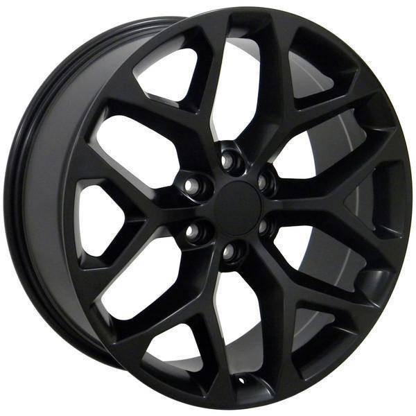 "20"" Chevy C2500 replica wheel 1988-2000 Matte Black rims 9489806"
