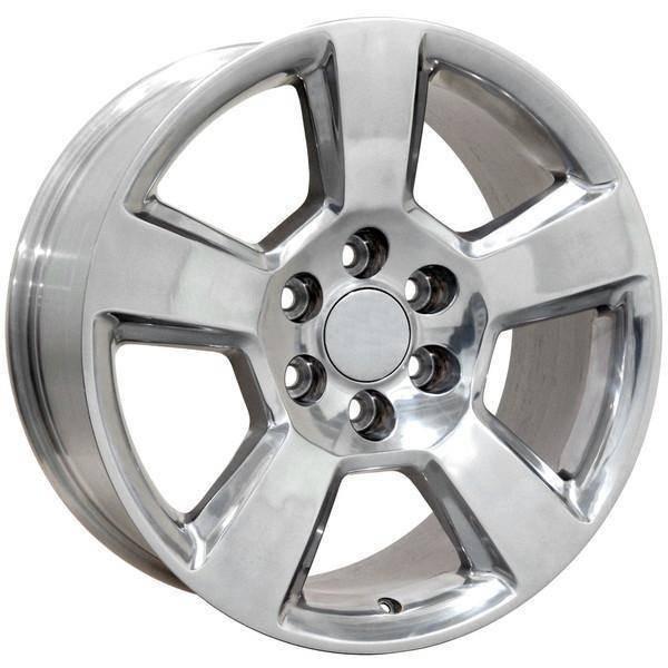 """20"""" Chevy C2500 replica wheel 1988-2000 Polished rims 9491323"""