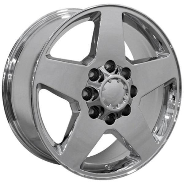 "20"" Chevy Silverado 2500 3500 HD replica wheel 2011-2014 Chrome rims 9451930"