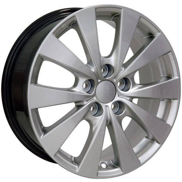 "17"" Toyota Sienna replica wheel 1998-2018 Hypersilver rims 9489834"