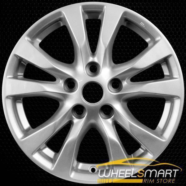 "16"" Nissan Altima oem wheel 2014-2018 Silver alloy stock rim 62718"