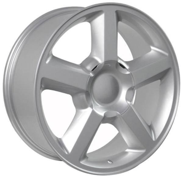 """20"""" Chevy C2500 replica wheel 1988-2000 Silver rims 7154608"""