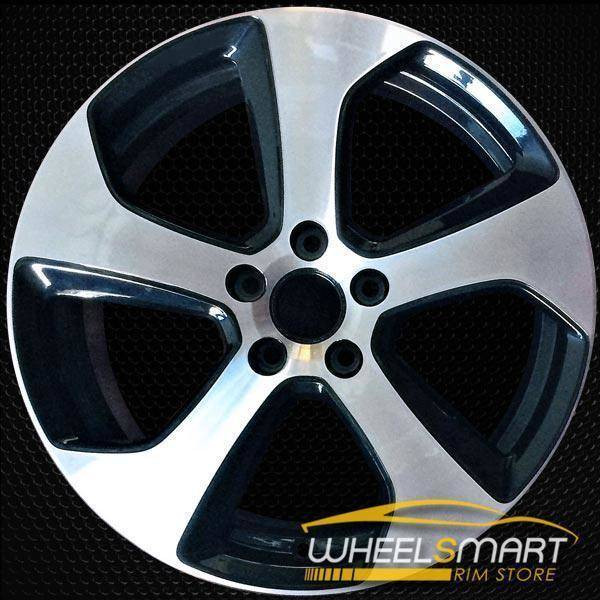 "18"" Volkswagen VW Golf oem wheel 2014-2017 Machined alloy stock rim 69980"