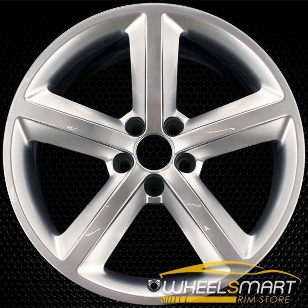 "18"" Audi S5 oem wheel 2008-2017 Hypersilver alloy stock rim 58825"