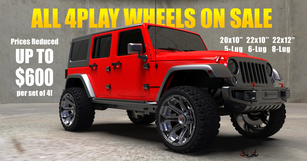 4play wheels sale for december 2019