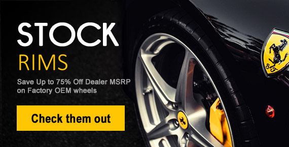 Buy all OEM wheels for sale and new replacement rims