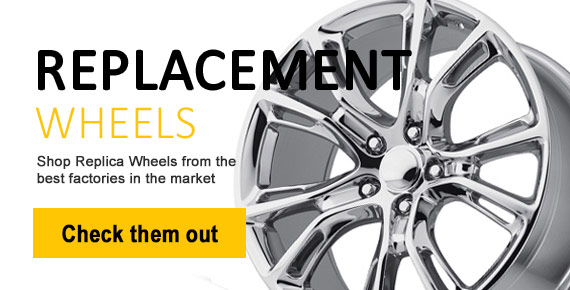 Factory OEM wheel replicas and replacement rims
