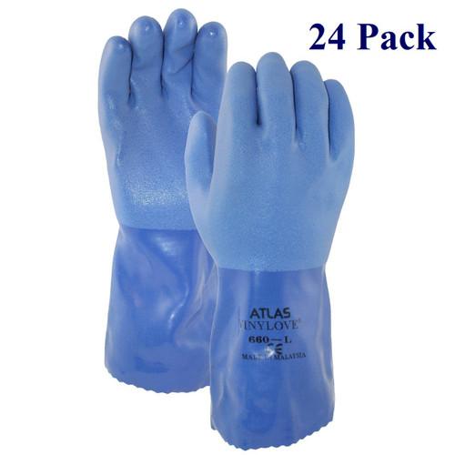 Blue Boy - Triple Dipped PVC - S-XXL  (24 Pack)
