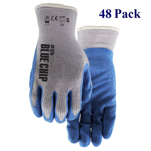 Blue Chip - Crinkle Rubber Palm - S-XL  (48 Pack)