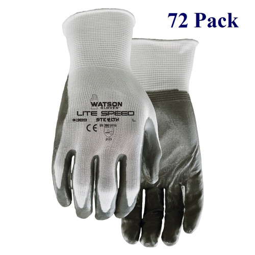 Stealth Lite Speed - Textured Nitrile Palm - S-XL  (72 Pack)