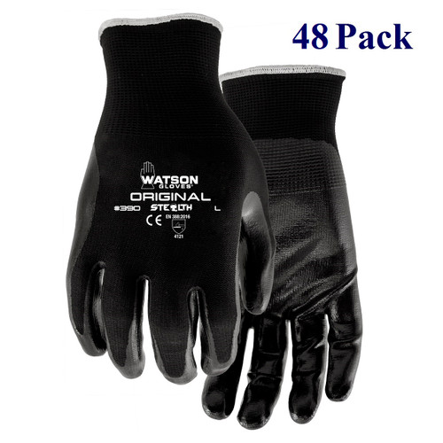 Stealth Original - Textured Nitrile Palm - S-XL  (48 Pack)