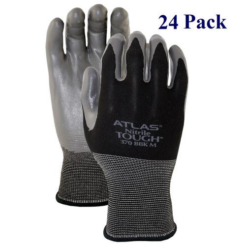 Black Hawk - Textured Nitrile Palm - M-XL  (24 Pack)