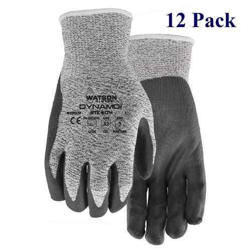 Stealth Dynamo - Foam Nitrile Palm - ANSI Cut Lv A2 - S-XXL  (12 Pack)