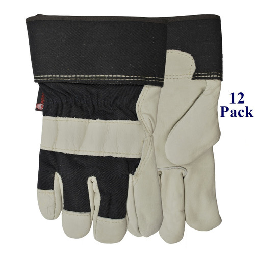 Big Dawg - FG Cowhide Palm - Insulated - S-3XL  (12 Pack)