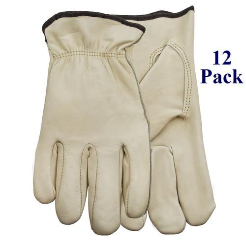 Man Handlers - FG Cowhide - S-XL  (12 Pack)
