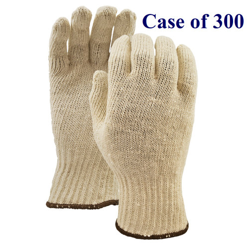 White Knight - Knit Cotton Liner - S-XL  (Case of 300 Pairs)