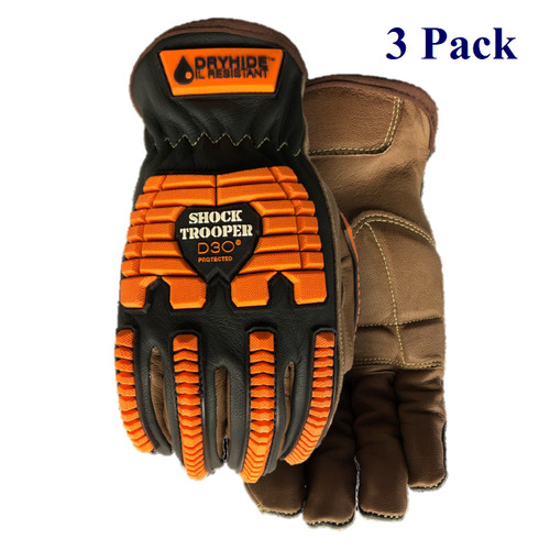 Shock Trooper - FG Goatskin - ANSI Cut Lv A7 - XS-3XL  (3 Pack)