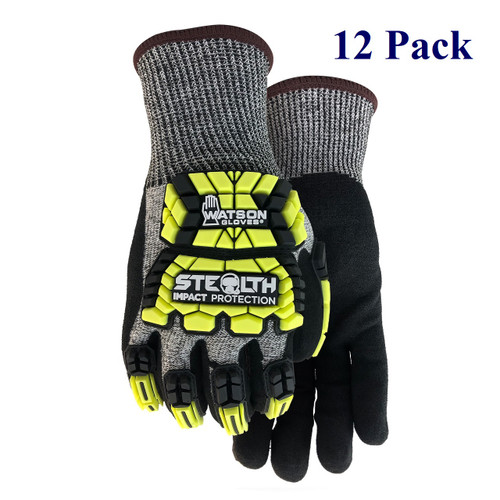 Stealth Hellcat - Foam Nitrile Palm -  ANSI Cut Lv 2 - S-XXL  (12 Pack)