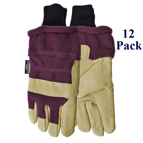 Gale Force - FG grain pigskin - Insulated - Ladies' S-L  (12 Pack)
